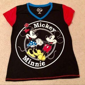 ❤️ DISNEY Size 2x MICKEY & MINNIE MOUSE T-SHIRT